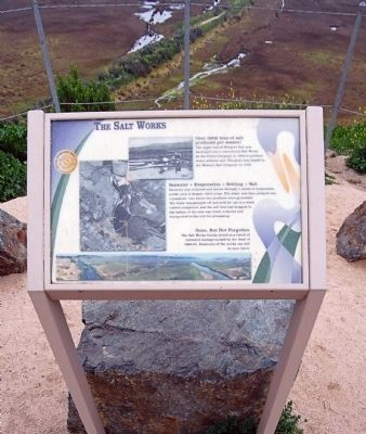 The Salt Works Marker image. Click for full size.