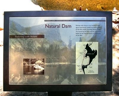 Natural Dam Marker image. Click for full size.