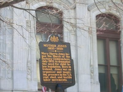 Mother Jones Marker image. Click for full size.