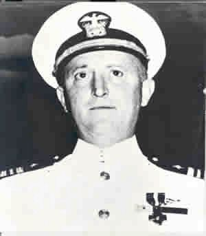Posthumous Medal of Honor awardee Cmdr. Howard Walter Gilmore image. Click for full size.