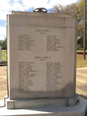 Dallas County World Wars Memorial image. Click for full size.