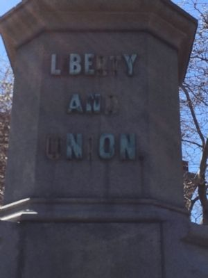 Liberty and Union Marker image. Click for full size.