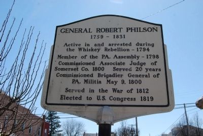 General Robert Philson Marker image. Click for full size.
