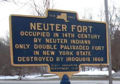 Neuter Fort Marker image. Click for full size.