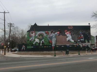 44th & Parkside Ballpark-Mural image. Click for full size.