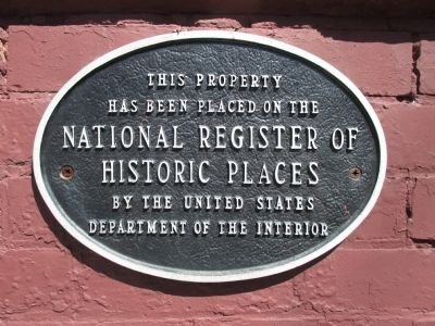 Miller-Mackey House Marker image. Click for full size.