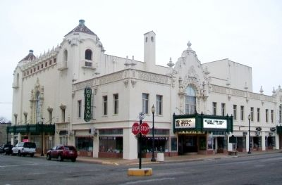 Coleman Theatre image. Click for full size.