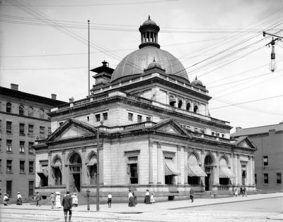 North Side Post Office (now the Children's Museum of Pittsburgh) image. Click for full size.