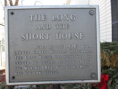 The Long and The Short House Marker image. Click for full size.