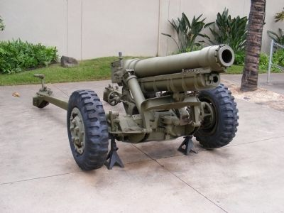U.S. 105mm Howitzer M3 Marker image. Click for full size.