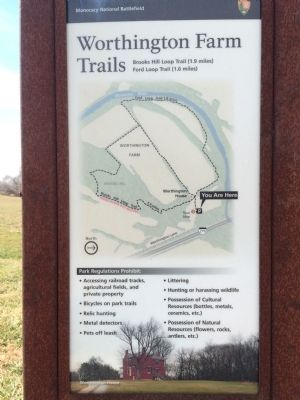 Nearby Trail Marker image. Click for full size.