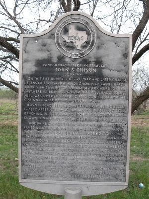 Confederate Beef Contractor Marker image. Click for full size.