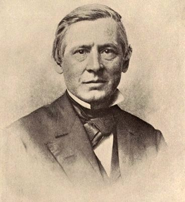 Asa Gray (1810–1888) image. Click for full size.