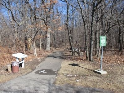 Oak Hill Marker and Path image. Click for full size.