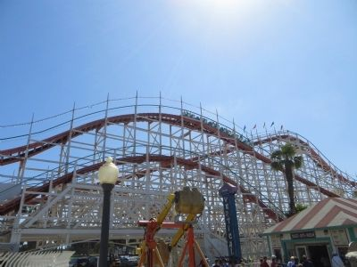 Mission Beach Roller Coaster image. Click for full size.