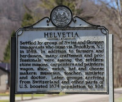 Helvetia Marker image. Click for full size.