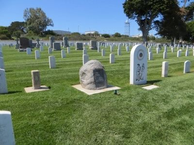 In Memory of the Heros of the Battle of San Pasqual Marker image. Click for full size.