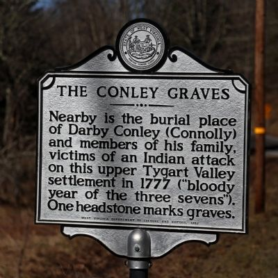 The Conley Graves Marker image. Click for full size.