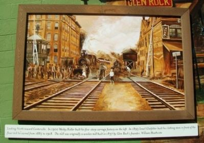 Trains, Grains, and More Trains Mural Inset image. Click for full size.