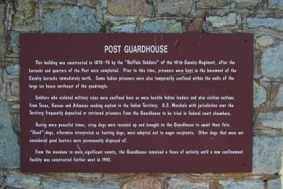 Post Guardhouse Marker image. Click for full size.