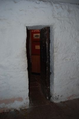 Entrance to Geronimo's Cell image. Click for full size.