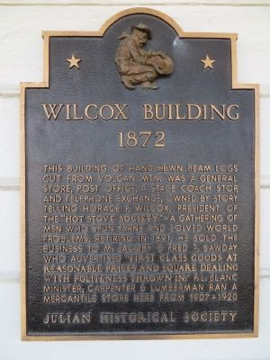 Wilcox Building Marker image. Click for full size.