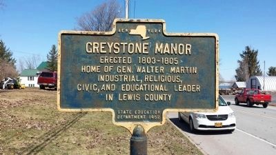Greystone Manor Marker image. Click for full size.