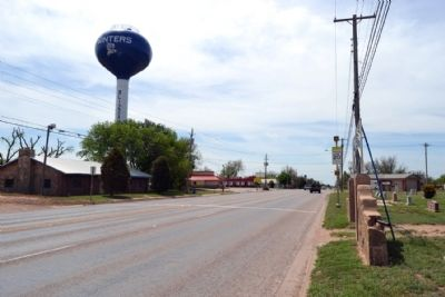 View to South Along Main Street (US 83) image. Click for full size.