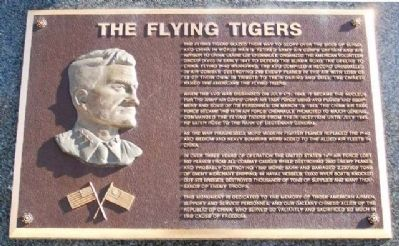 The Flying Tigers Marker image. Click for full size.
