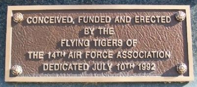 The Flying Tigers Sponsor Marker image. Click for full size.