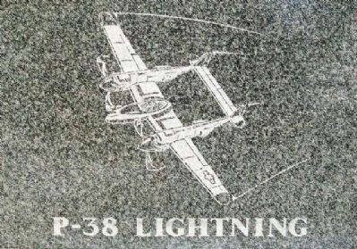 The Flying Tigers P-38 Marker image. Click for full size.