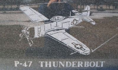 The Flying Tigers P-47 Marker image. Click for full size.