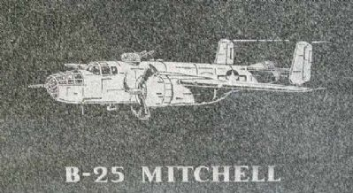 The Flying Tigers B-25 Marker image. Click for full size.