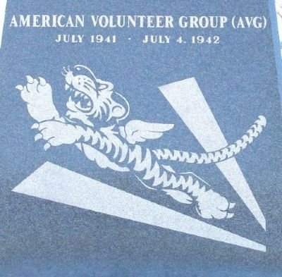 The Flying Tigers Emblem image. Click for full size.