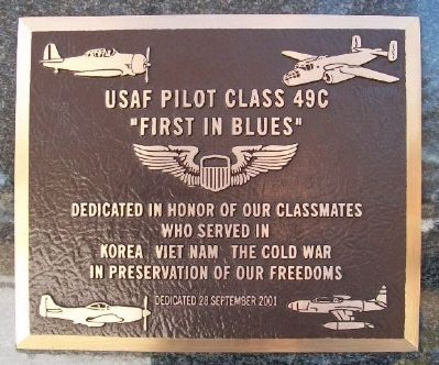 USAF Pilot Class 49C Marker image. Click for full size.