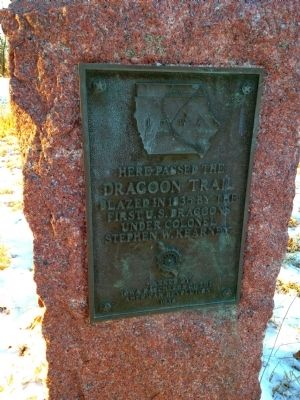 Dragoon Trail Marker Marker image. Click for full size.