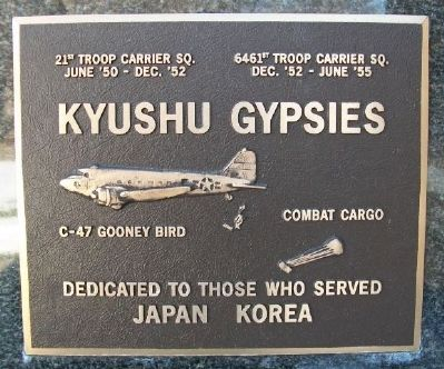 Kyushu Gypsies Marker image. Click for full size.