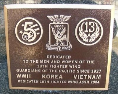 18th Fighter Wing Marker image. Click for full size.