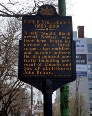 David Bustill Bowser Marker image. Click for full size.
