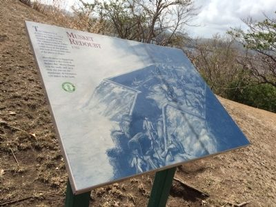 Musket Redoubt Marker image. Click for full size.