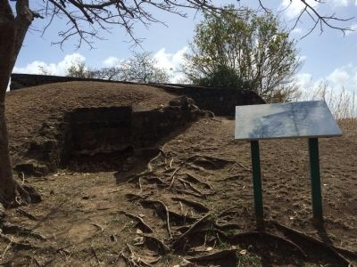 Wide view of the Musket Redoubt Marker image. Click for full size.