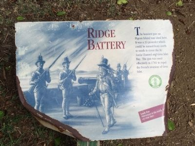 Ridge Battery Marker image. Click for full size.