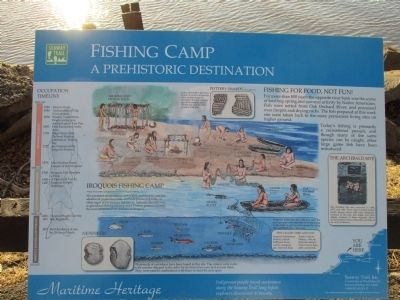 Fishing Camp Marker image. Click for full size.