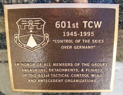 601st Tactical Control Wing Marker image. Click for full size.