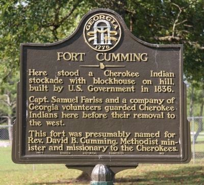 Fort Cumming Marker image. Click for full size.