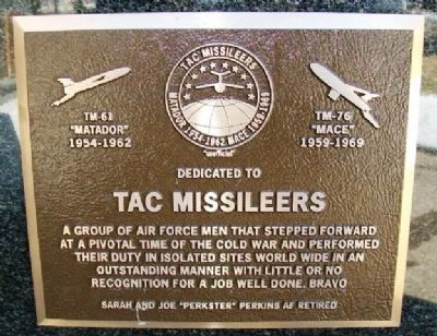 TAC Missileers Marker image. Click for full size.