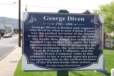 George Diven Marker image. Click for full size.