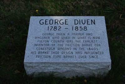 George Diven Grave image. Click for full size.