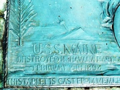 Belle Center Spanish American War Memorial Marker image. Click for full size.