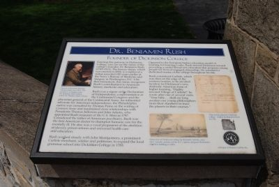 Dr. Benjamin Rush Marker image. Click for full size.